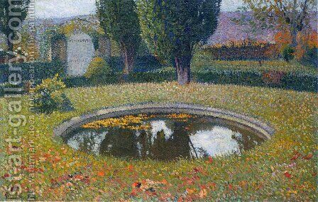 Fountain in Marquayrol 3 by Henri Martin - Reproduction Oil Painting