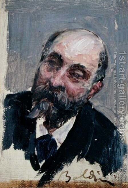 Portrait of Georges de Bellio (1828-94) by Giovanni Boldini - Reproduction Oil Painting