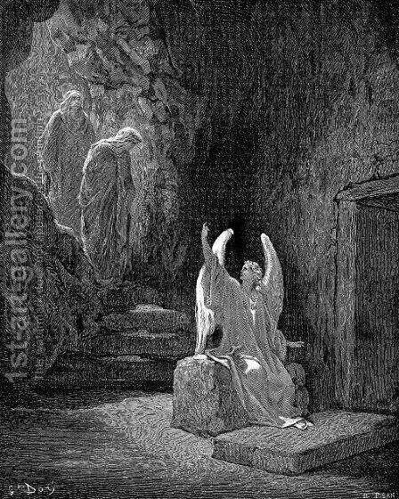 The Resurrection by Gustave Dore - Reproduction Oil Painting
