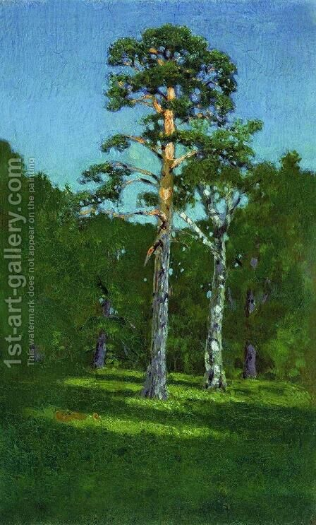 Pine by Arkhip Ivanovich Kuindzhi - Reproduction Oil Painting