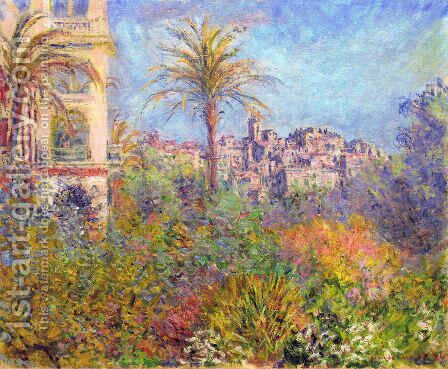 Villas at Bordighera 03 by Claude Oscar Monet - Reproduction Oil Painting