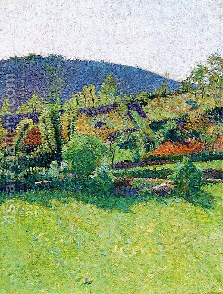 The Way to the Marquayrol by Henri Martin - Reproduction Oil Painting