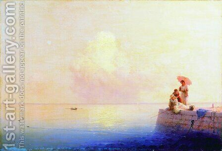 Calm Sea 2 by Ivan Konstantinovich Aivazovsky - Reproduction Oil Painting