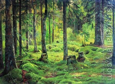 Deadwood by Ivan Shishkin - Reproduction Oil Painting