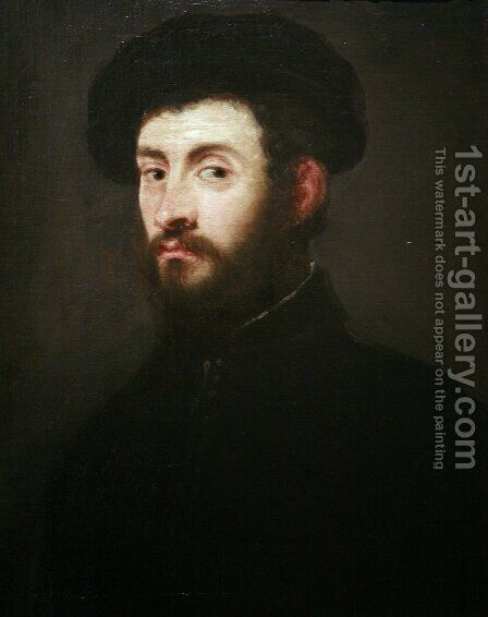 Portrait of a man 7 by Jacopo Tintoretto (Robusti) - Reproduction Oil Painting