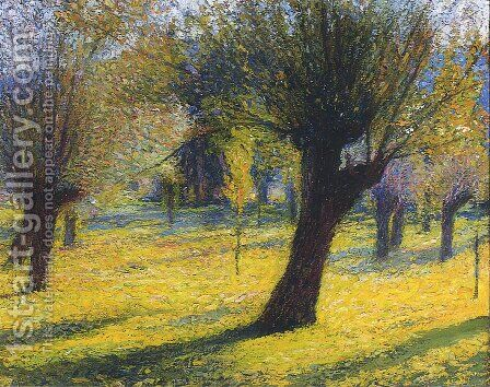 Willows in the Vert by Henri Martin - Reproduction Oil Painting
