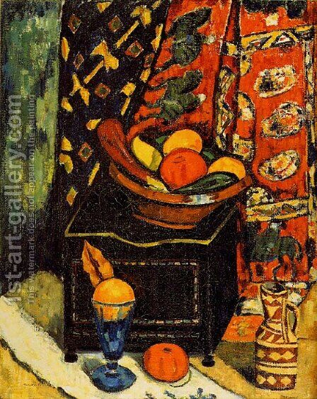 Still Life, No. 1 by Marsden Hartley - Reproduction Oil Painting
