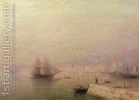 Morning. Bay by Ivan Konstantinovich Aivazovsky - Reproduction Oil Painting