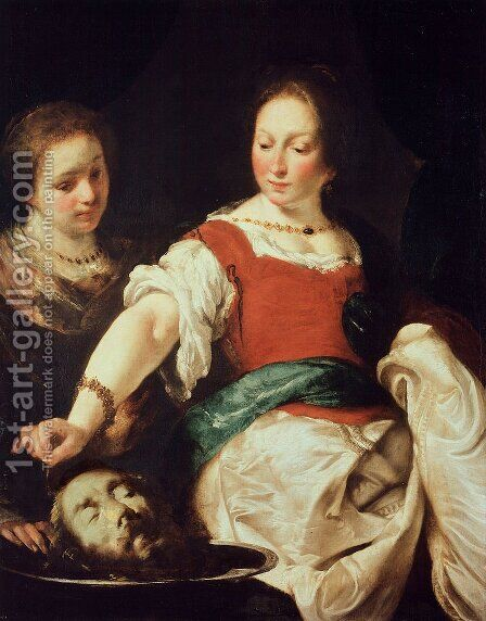 Salome by Bernardo Strozzi - Reproduction Oil Painting