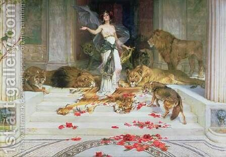 Circe by Alexandre Cabanel - Reproduction Oil Painting