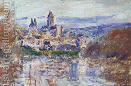The Village of Vetheuil by Claude Oscar Monet - Reproduction Oil Painting