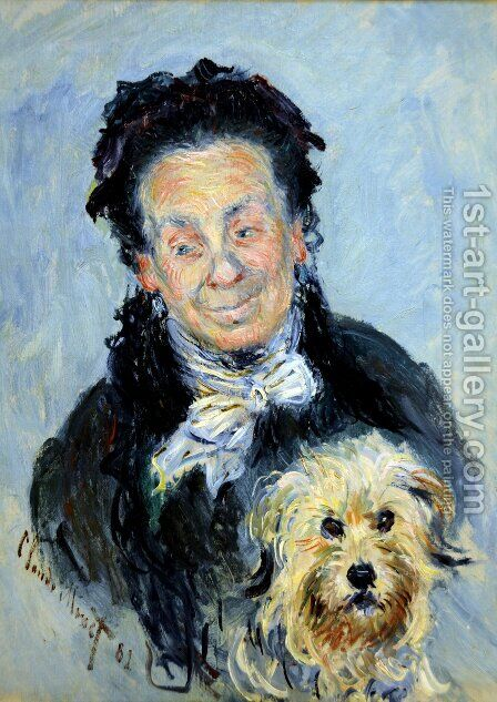 Portrait of Eugenie Graff (Madame Paul) by Claude Oscar Monet - Reproduction Oil Painting
