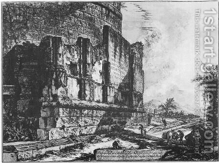 Vedute di Roma 101 by Giovanni Battista Piranesi - Reproduction Oil Painting