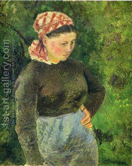 Unknown 2 by Camille Pissarro - Reproduction Oil Painting