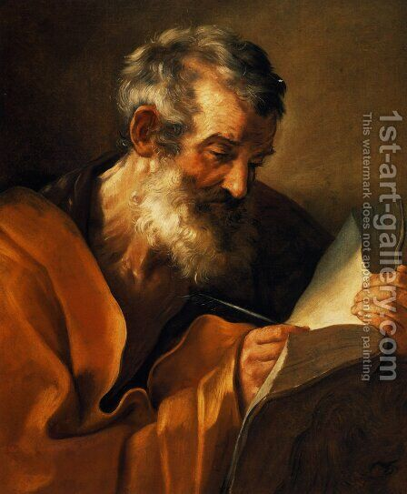 Saint Mark 2 by Guido Reni - Reproduction Oil Painting