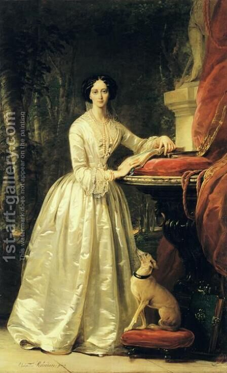 Portrait of Grand Duchess Maria Alexandrovna 2 by Christina Robertson - Reproduction Oil Painting