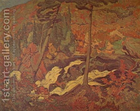 The Wild River by James Edward Hervey MacDonald - Reproduction Oil Painting