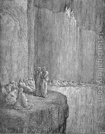 Sapia by Gustave Dore - Reproduction Oil Painting