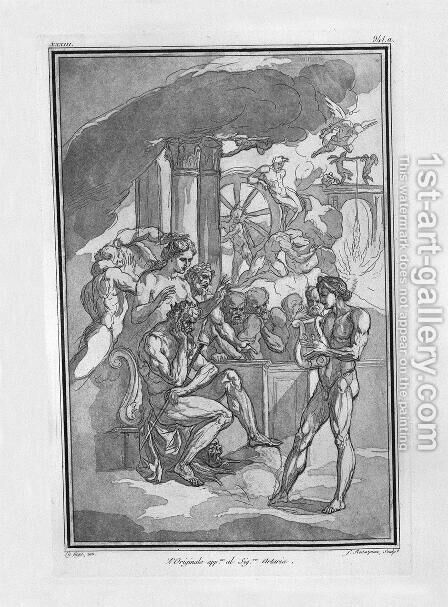 Orpheus by Giovanni Battista Piranesi - Reproduction Oil Painting