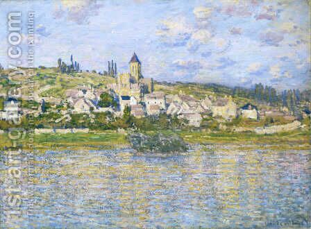 Vetheuil 5 by Claude Oscar Monet - Reproduction Oil Painting