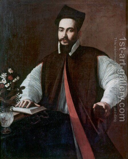 Portrait of Maffeo Barberini by Caravaggio - Reproduction Oil Painting