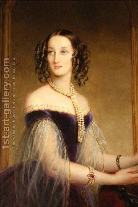 Maria Nicolaevna, Duchess of Leuchtenberg 2 by Christina Robertson - Reproduction Oil Painting