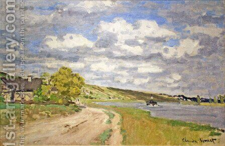 The Estuary of the Siene by Claude Oscar Monet - Reproduction Oil Painting