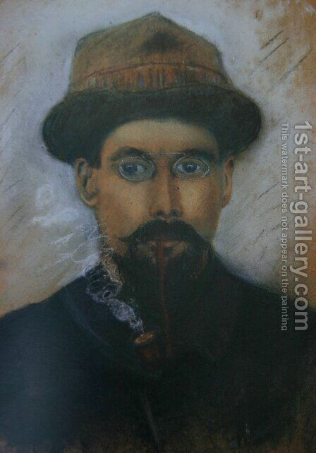 Self-portrait by Gustave Loiseau - Reproduction Oil Painting