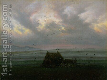 Fog by Caspar David Friedrich - Reproduction Oil Painting