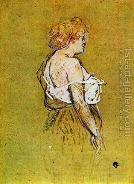 Mlle Lucie Bellanger by Toulouse-Lautrec - Reproduction Oil Painting
