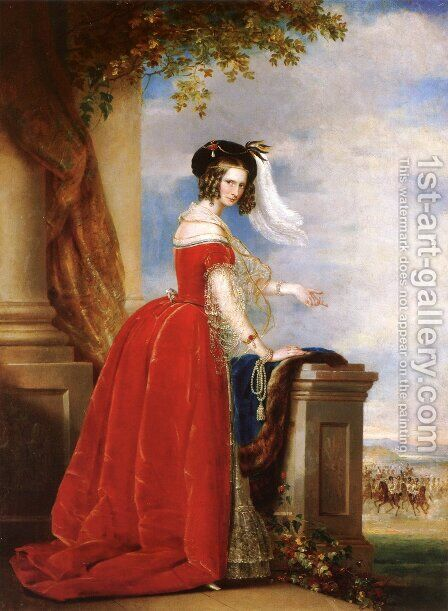 Alexandra Feodorovna (Charlotte of Prussia) by Christina Robertson - Reproduction Oil Painting