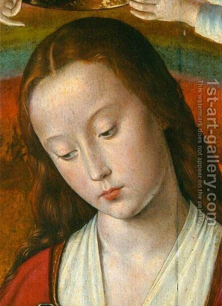 The Moulins Triptych (detail) 4 by Master of Moulins  (Jean Hey) - Reproduction Oil Painting