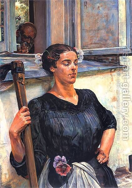 Death by Jacek Malczewski - Reproduction Oil Painting