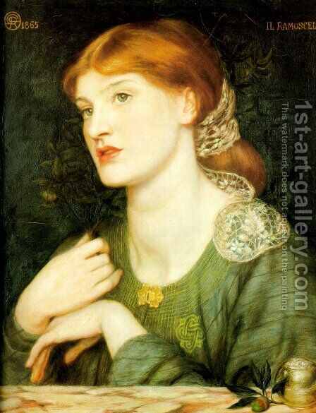 The Twig by Dante Gabriel Rossetti - Reproduction Oil Painting