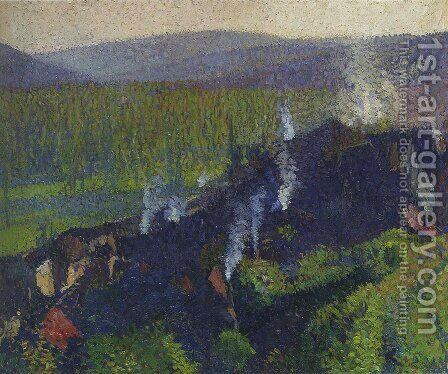 Labastide du Vert 9 by Henri Martin - Reproduction Oil Painting