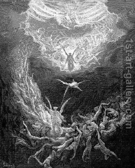 The Last Judgment by Gustave Dore - Reproduction Oil Painting