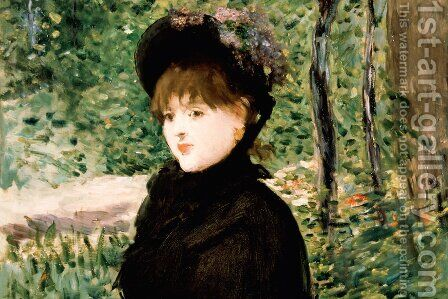 The stroll by Edouard Manet - Reproduction Oil Painting