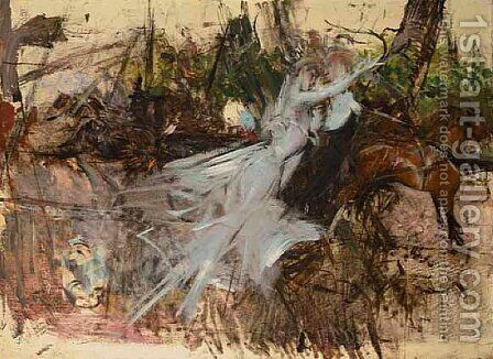 A Midsummer Night's Dream by Giovanni Boldini - Reproduction Oil Painting