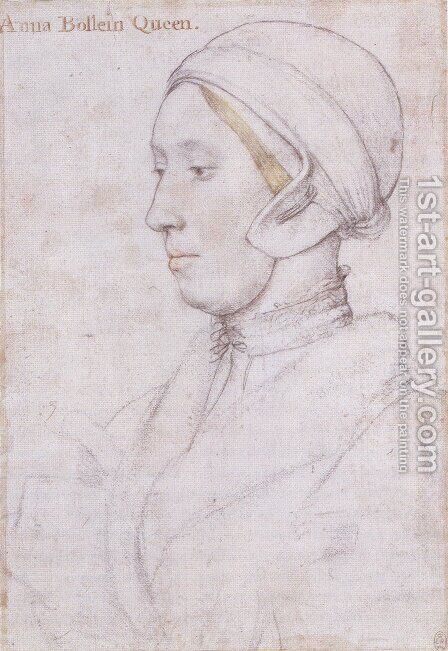 Portrait of a Woman 2 by Hans, the Younger Holbein - Reproduction Oil Painting
