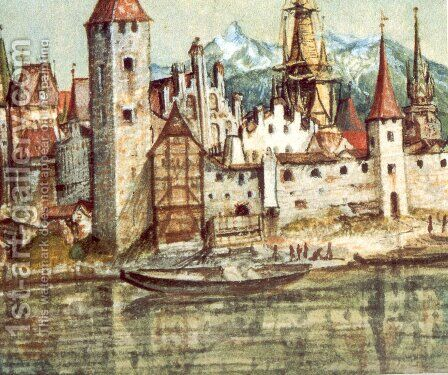 Innsbruck by Albrecht Durer - Reproduction Oil Painting