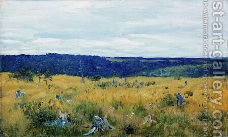 Gray day 3 by Isaak Ilyich Levitan - Reproduction Oil Painting