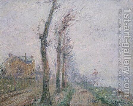 Pothius Quay at the Oie River by Gustave Loiseau - Reproduction Oil Painting