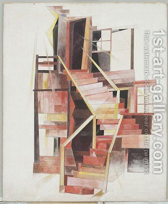 Stairs, Provincetown by Charles Demuth - Reproduction Oil Painting