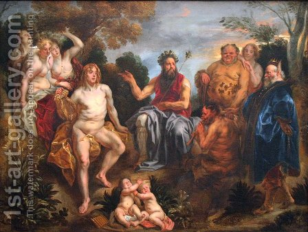The Judgement of Midas 2 by Jacob Jordaens - Reproduction Oil Painting