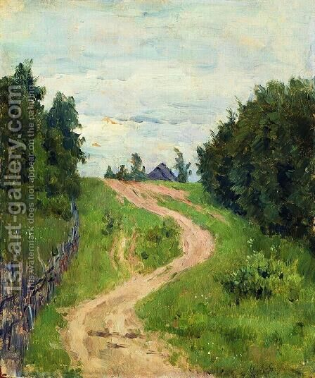 Trail by Isaak Ilyich Levitan - Reproduction Oil Painting