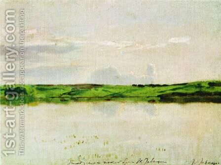 Calm summer evening by Isaak Ilyich Levitan - Reproduction Oil Painting