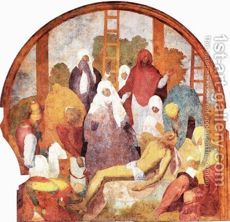 Lamentation by (Jacopo Carucci) Pontormo - Reproduction Oil Painting