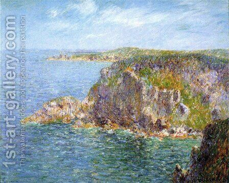 Cap Frehel by Gustave Loiseau - Reproduction Oil Painting