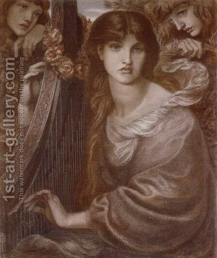 The Garland 2 by Dante Gabriel Rossetti - Reproduction Oil Painting