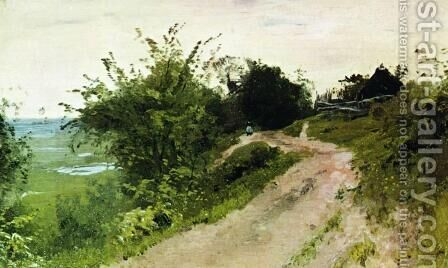 A path 2 by Isaak Ilyich Levitan - Reproduction Oil Painting